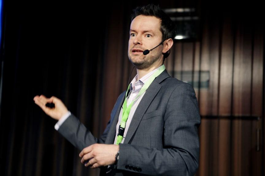 Ferry Smits, Sektionsleder Byggningsfysik, Ramböll Norge, berättade om världens mest energieffektiva hotell som nu uppförs i Trondheim