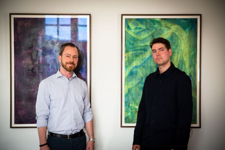 Jakob Ellemann Jensen og Birk Bjørlo