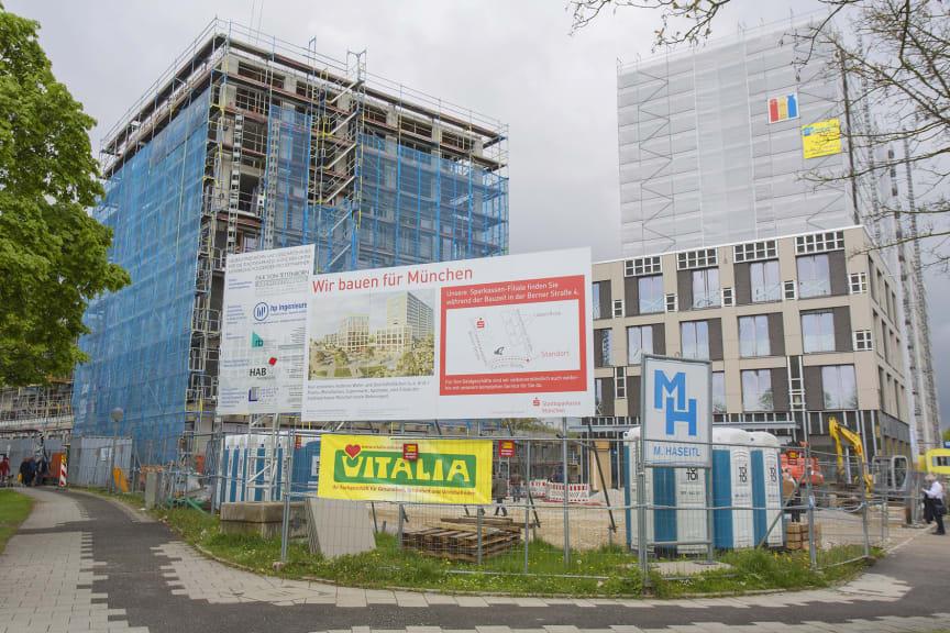 84 neue Wohnungen, ein Ärztehaus und Supermarkt
