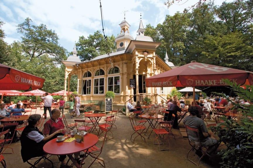 Bremen, Bürgerpark med Biergarten