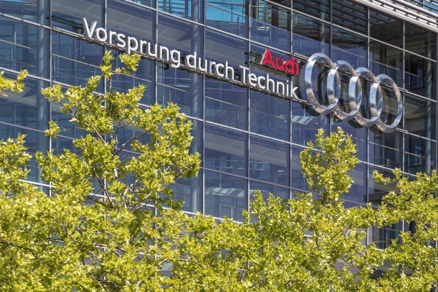 Audis hovedkvarter i Ingolstadt