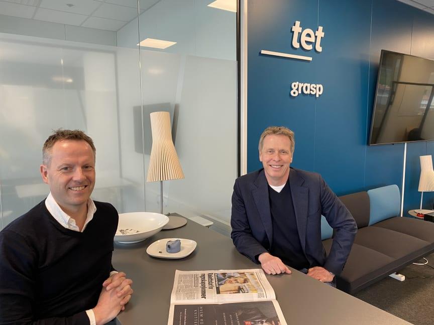 Anders Aasen og Bjørnar Fjeld