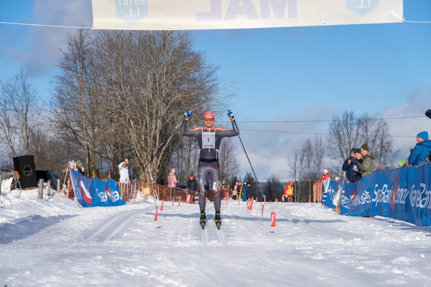 Vinner av herreklassen Trysil Skimaraton 2020
