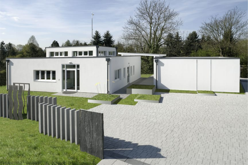 Modulares Gebäude aus Stahlraumzellen
