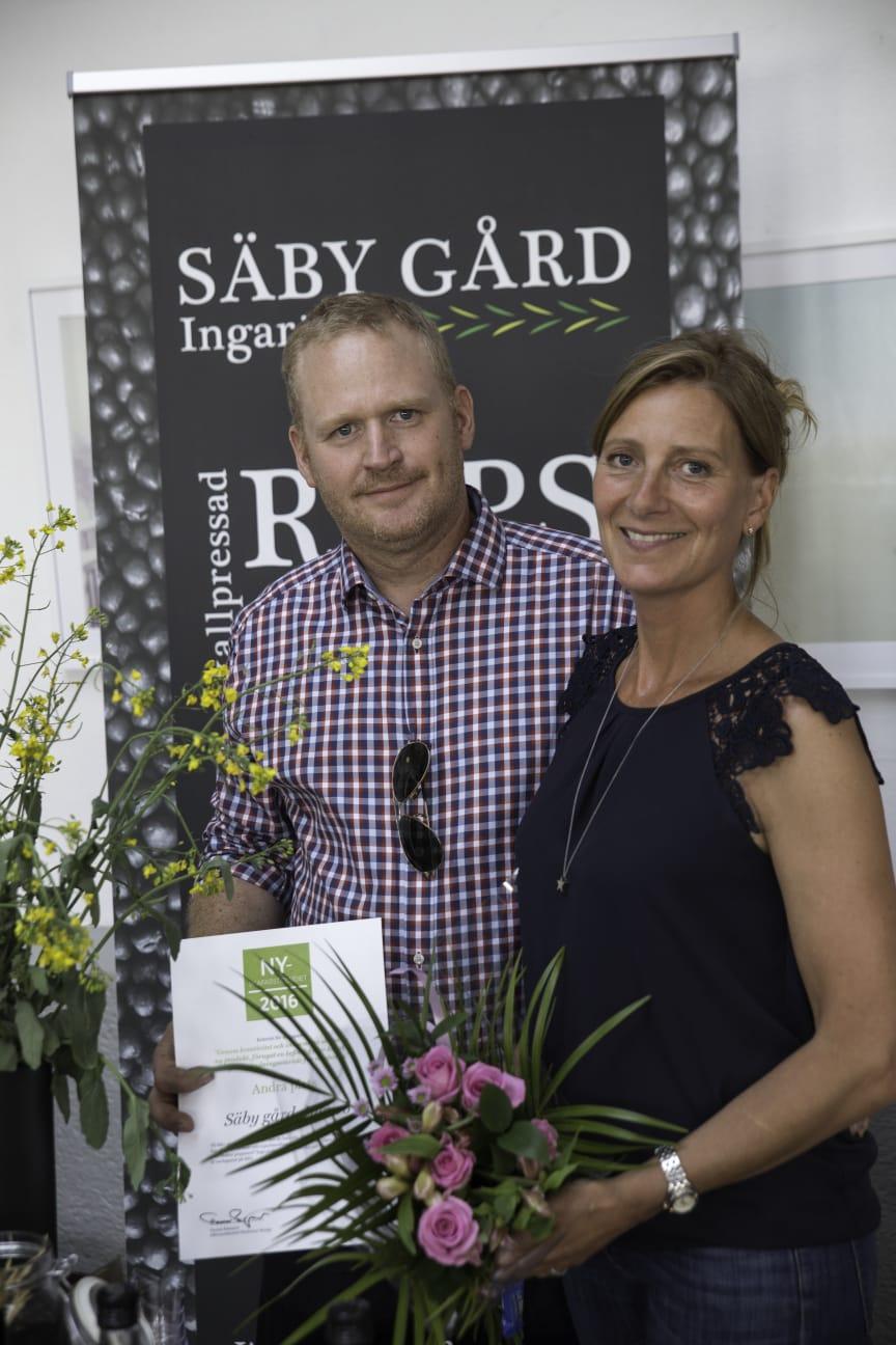 Säby Gård, Ingarö, andrapristagare i Nyskaparstipendiet 2016
