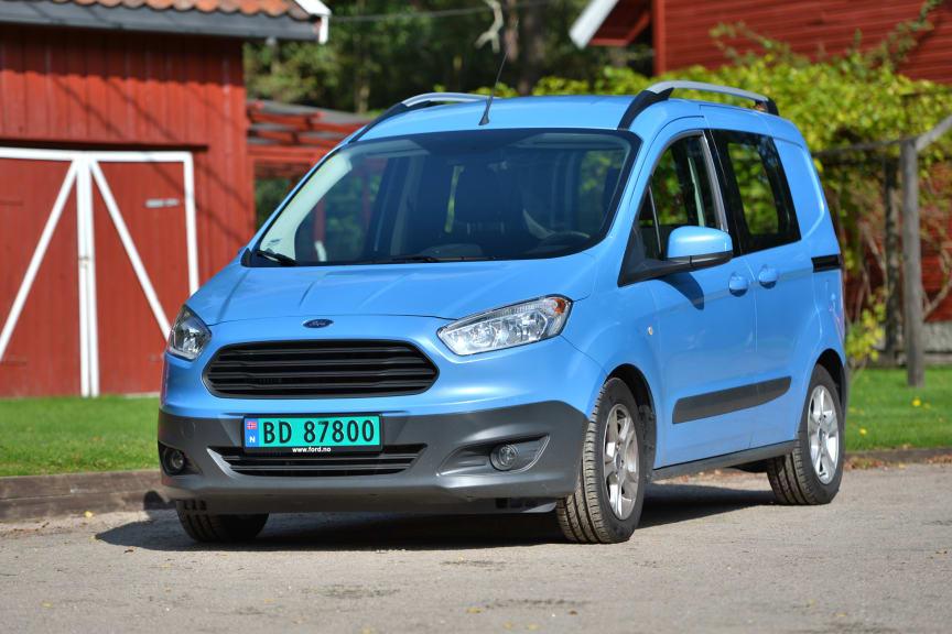 Nye Ford Courier, Norges minste og rimeligste varebil