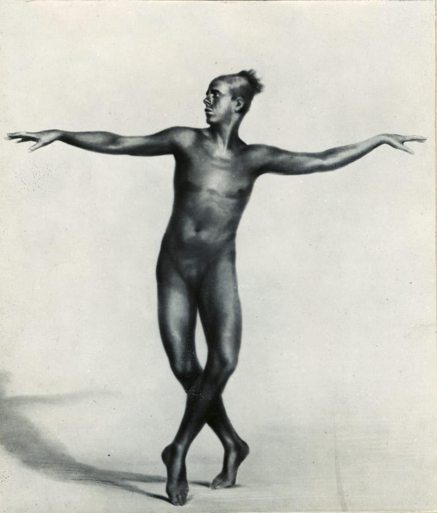 Jean Börlin i Människan och hennes åtrå, 1921