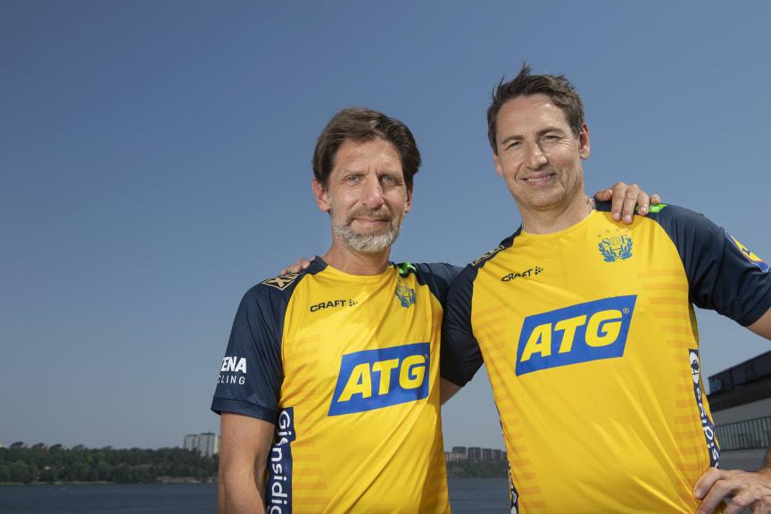 Tomas Axnér och Glenn Solberg