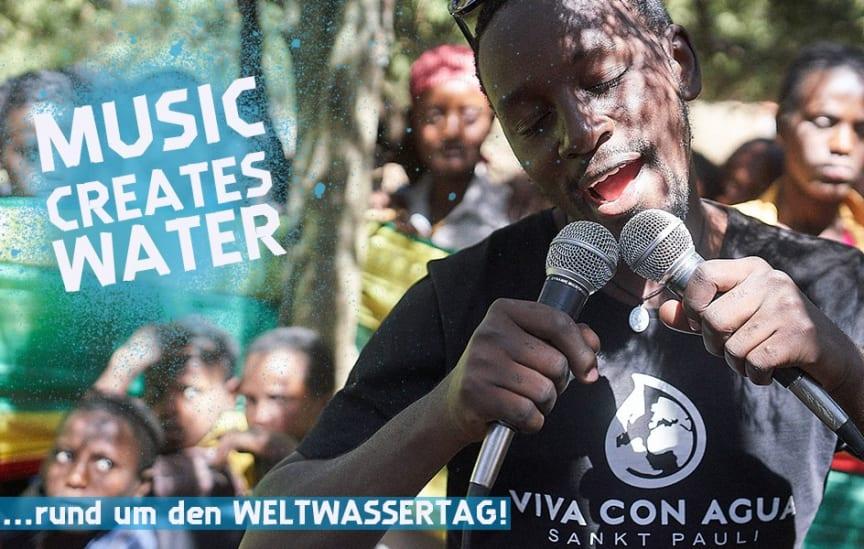 Music Creates Water - Mach Dein Wohnzimmer zur Bühne für sauberes Trinkwasser!