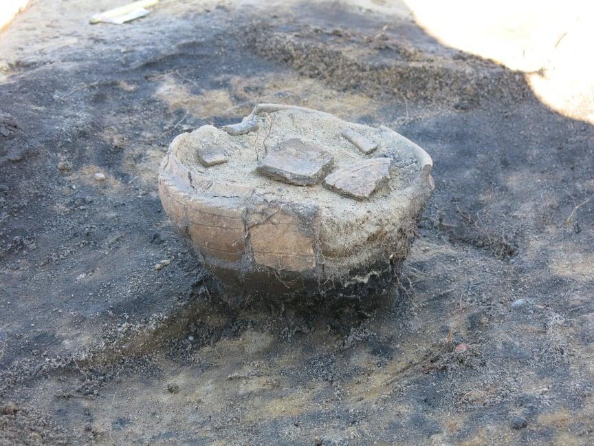 gravurna av östersjökeramik