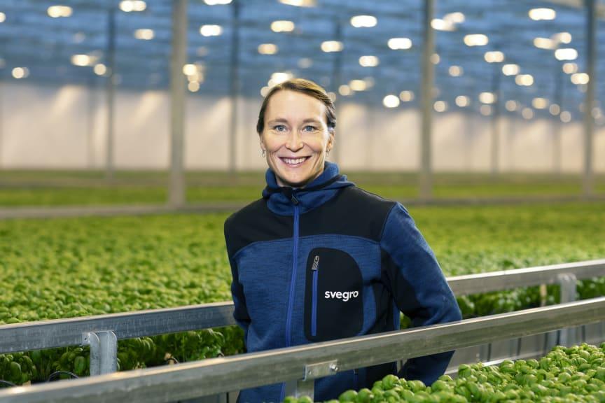 Kristin Orrestig Varuförsörjningschef på Svegro