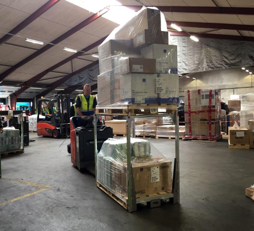 Transportsystemet SpaceInvader hjælper PostNord med at spare hver 10. lastbil væk - og dermed reducere CO2 og NoX udledning med 8,64%.