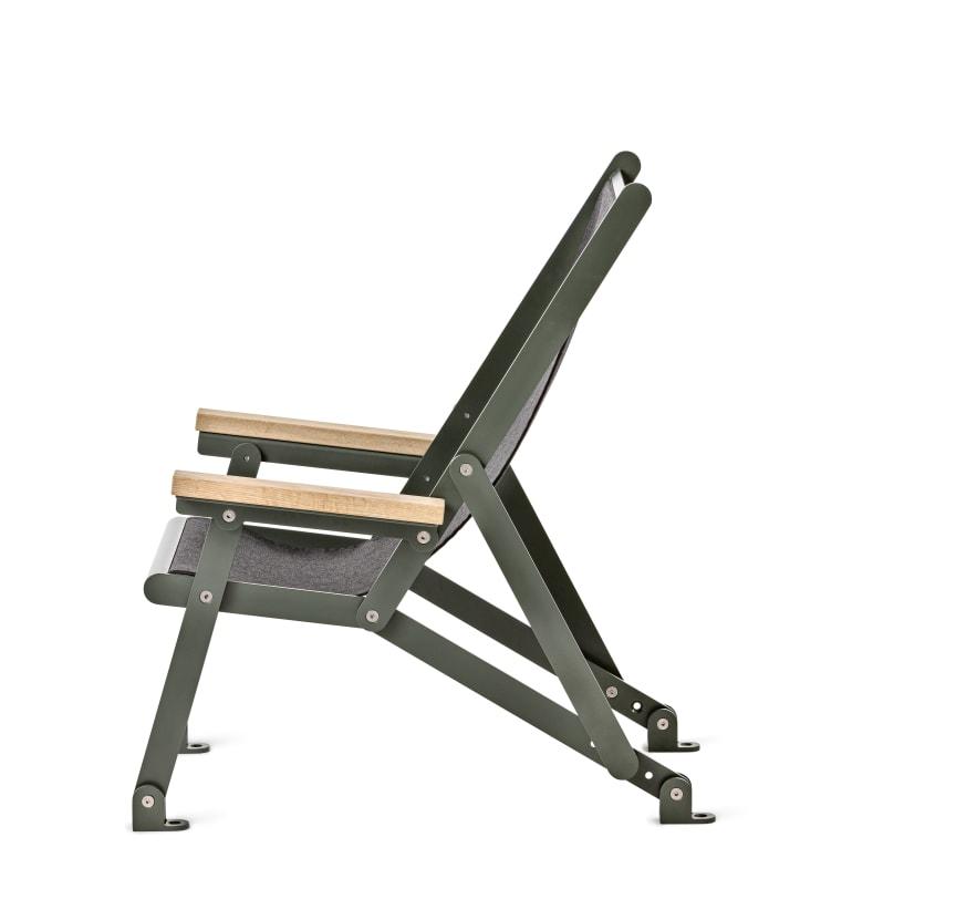 Loj sun chair, design Thomas Bernstrand. Nyhet 2020