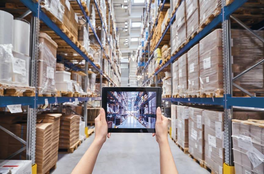 Axla Logistics Pack och Distribution Höglager