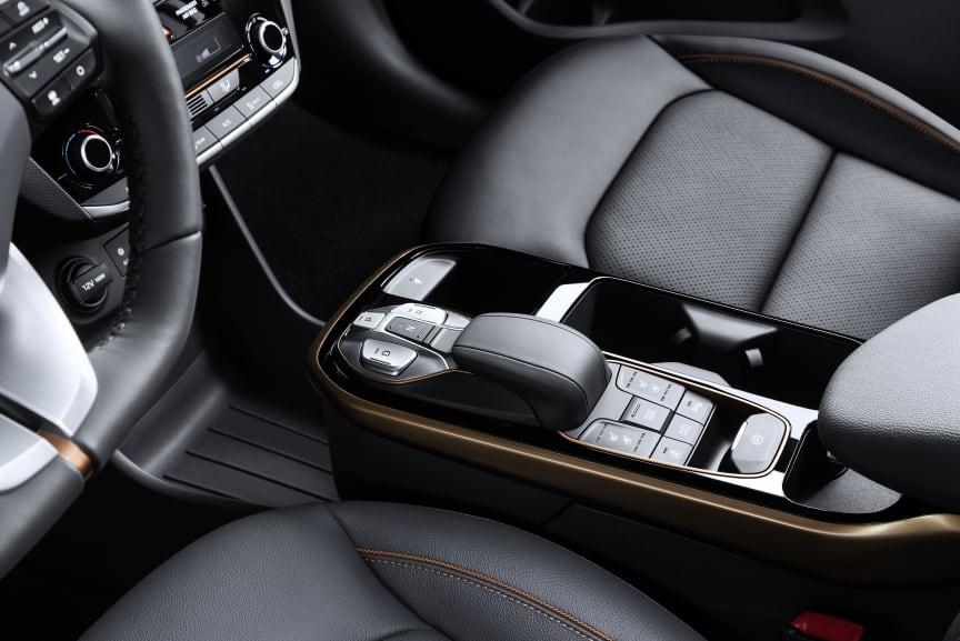 IONIQ electric interior
