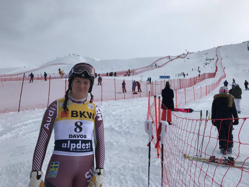Alpinskidåkaren Fanny Axelsson
