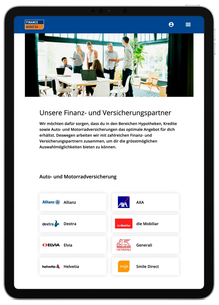 Presse iPad Partner_FinanceScout24