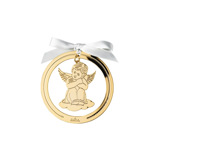 R_Silver_Collection_Angel_Gold_sitting_8_cm