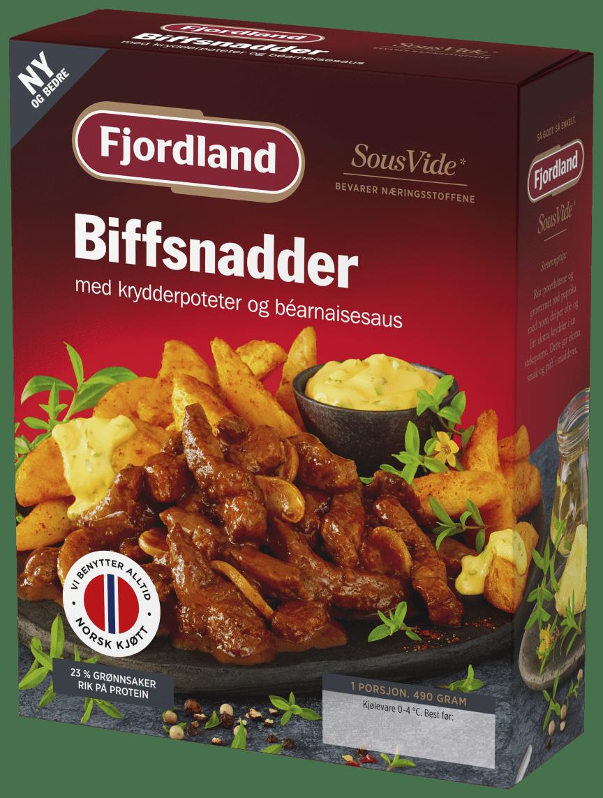 Fjordland Biffsnadder 490 g png