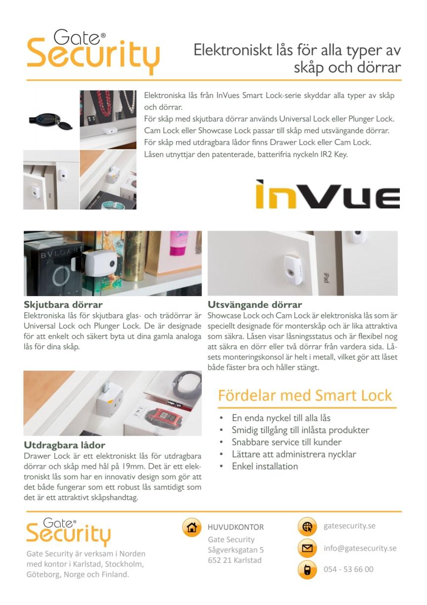 Elektroniskt låssystem till skåp och dörrar