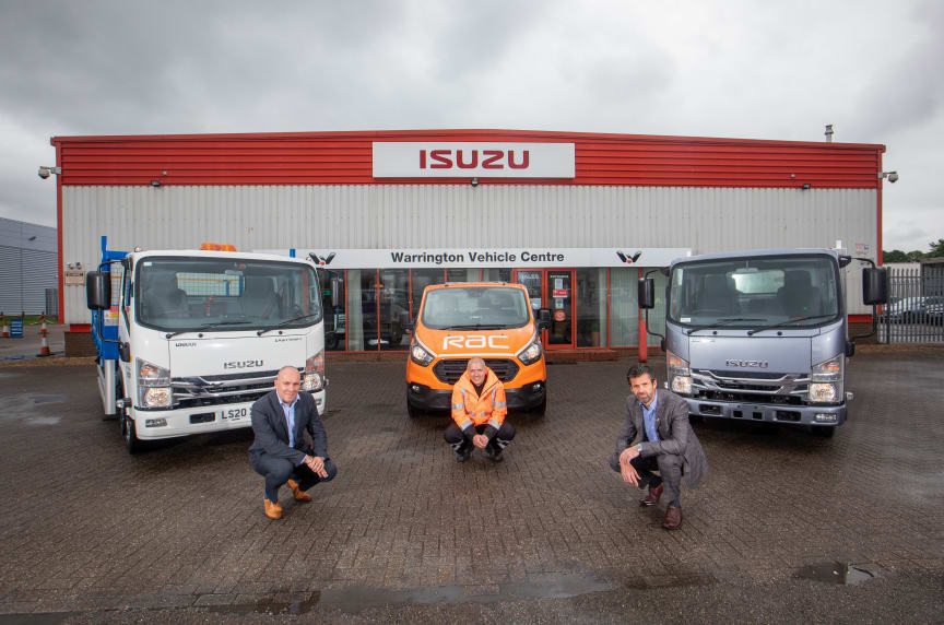 RAC and Isuzu Truck UK announce new contract