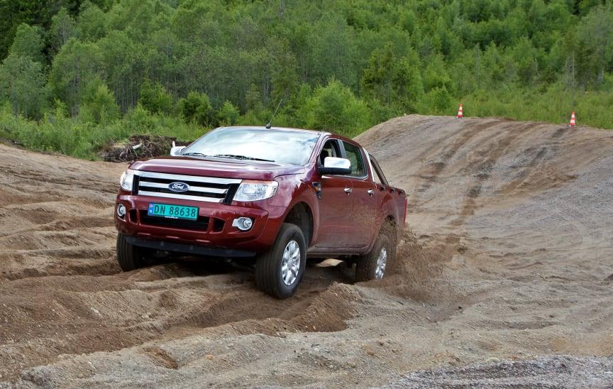 Nye Ford Ranger lanseres i Norge i disse dager.