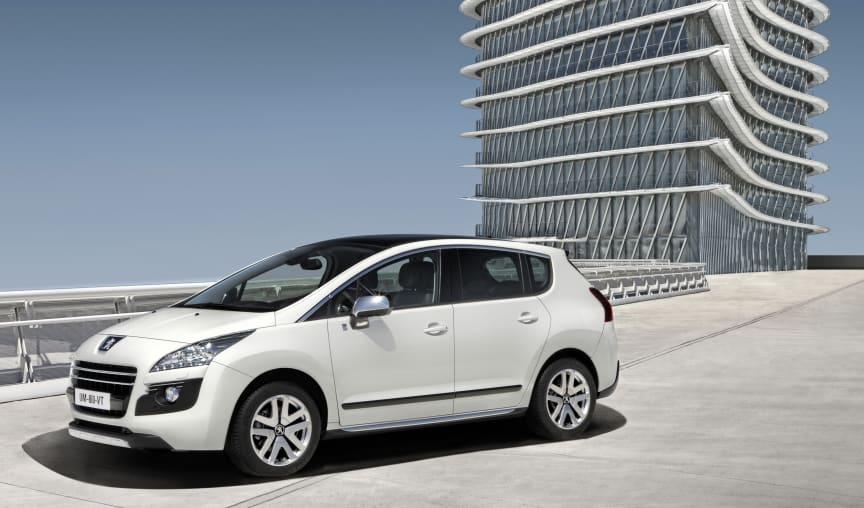 Peugeot 3008 en succé på den kinesiska marknaden