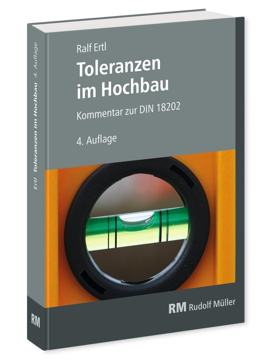 Toleranzen im Hochbau, 4. Auflage (3D/tif)