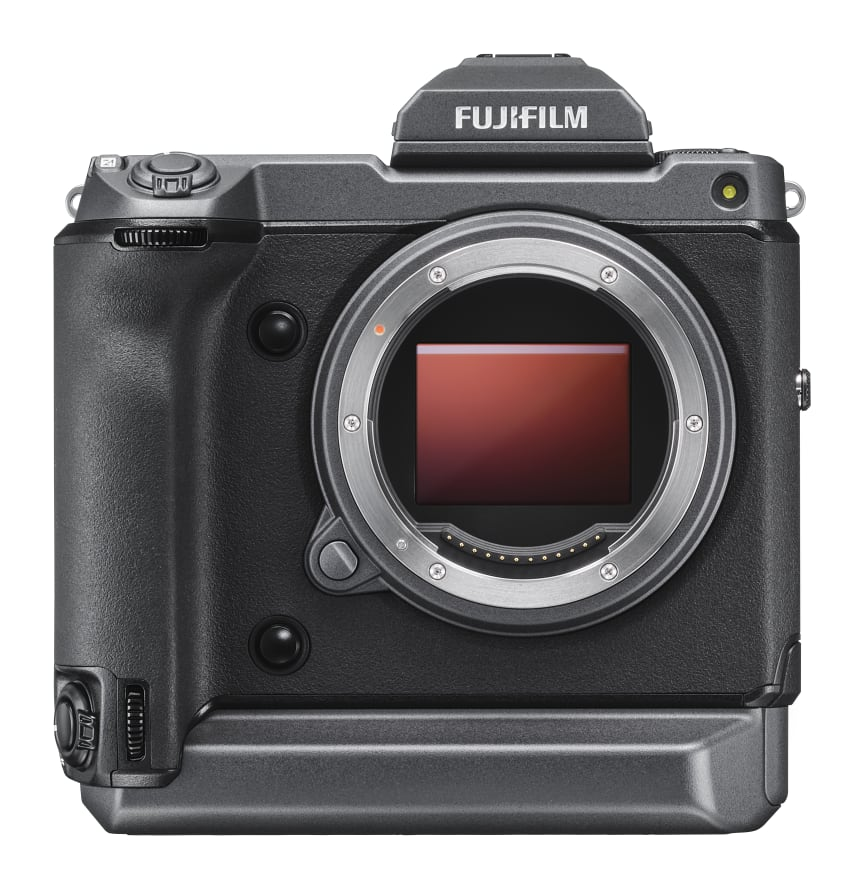 GFX 100 Front with EVF