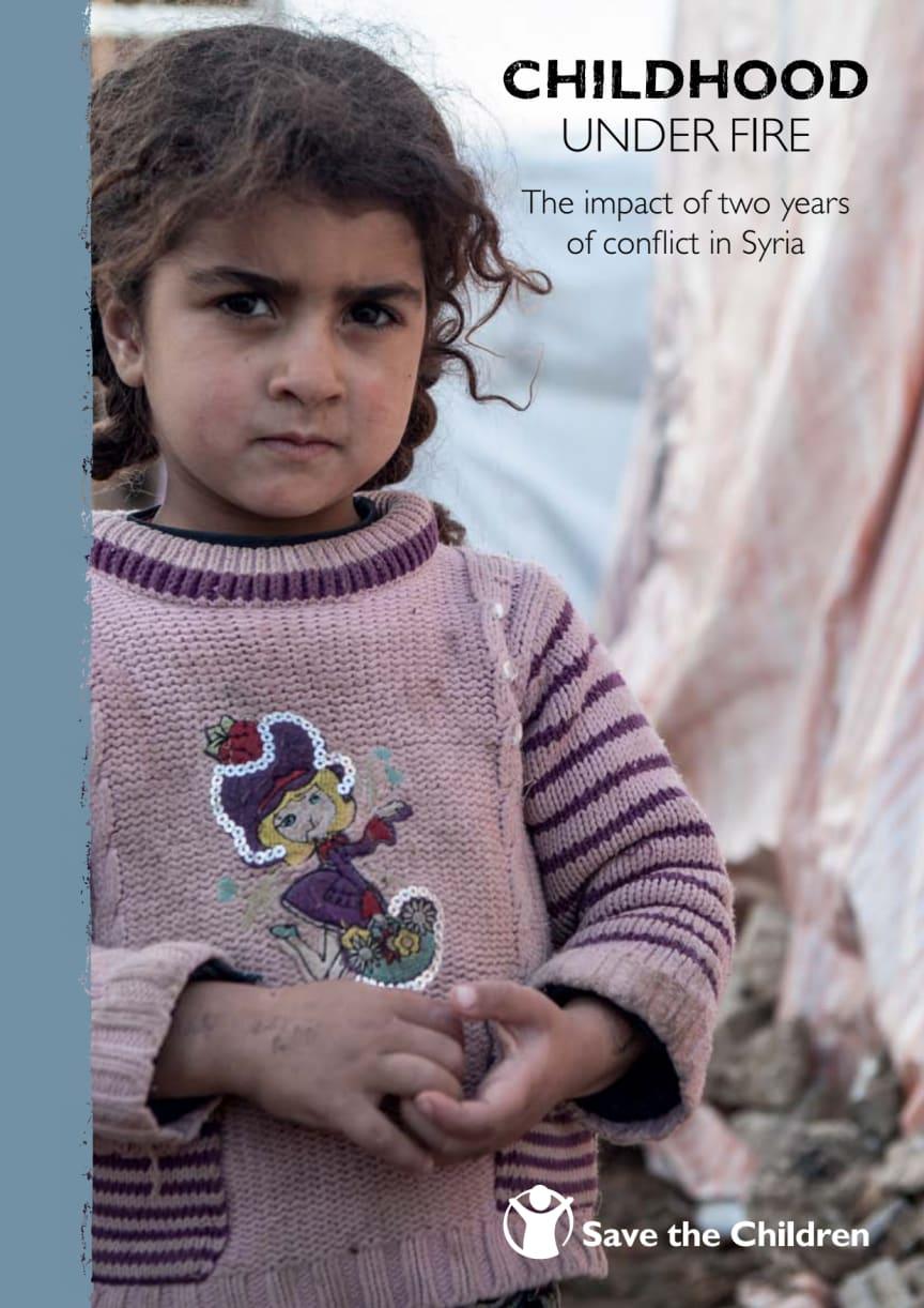 Två år av inbördeskrig: ny rapport om Syriens barn