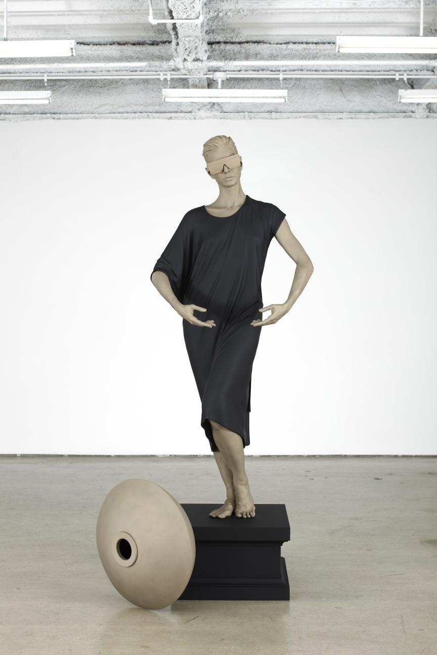 Frank Benson, Human Statue (Jessie), 2011