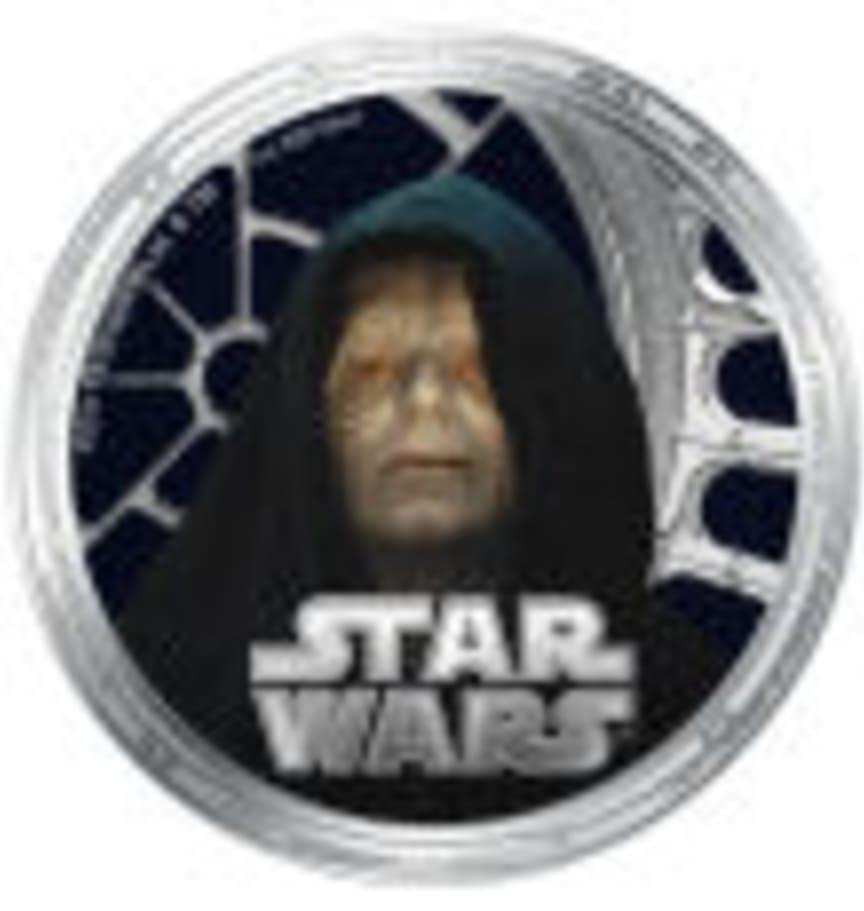 Emperor Palaptine - Star Wars mynt