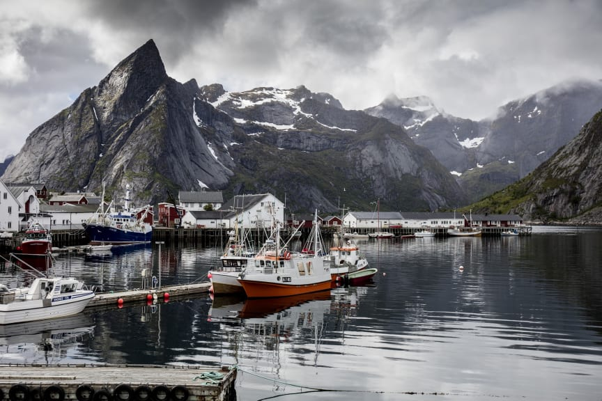 Nordland, Reine i Lofoten - foto Pixabay