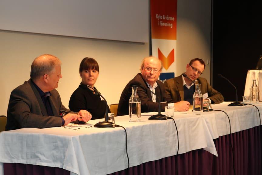 Paneldiskussion på Energispaning 2013