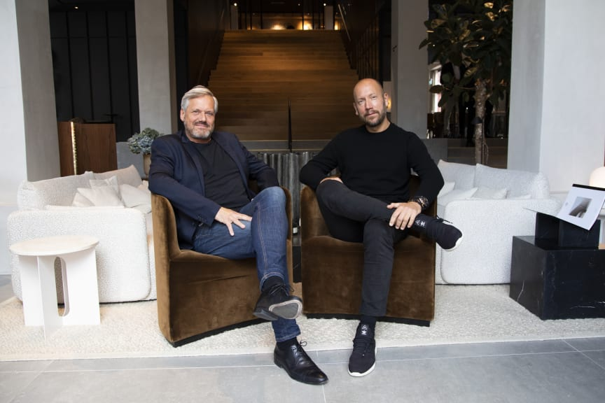 Bjarne Hansen (Menu) og Jonas Bjerre-Poulsen (Norm Architects)