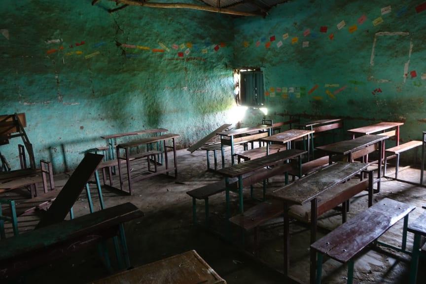 Stort behov av nya klassrum!