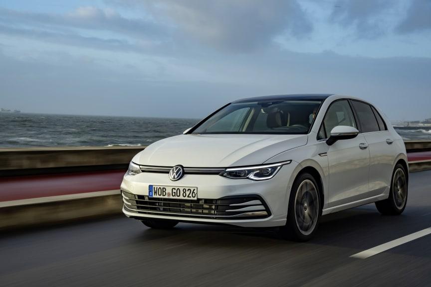 Nya Golf är en av de säkraste bilarna på marknaden.