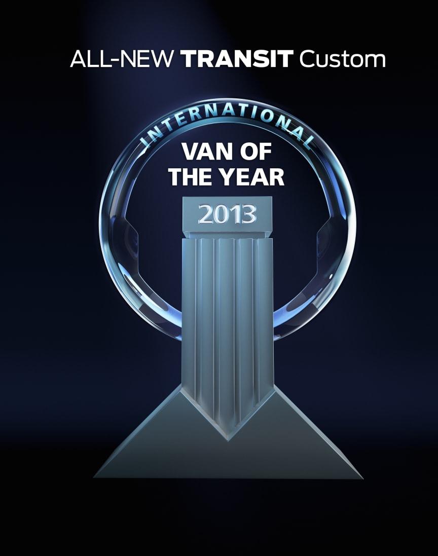 INTERNATIONAL VAN OF THE YEAR 2013 - FORD TRANSIT CUSTOM