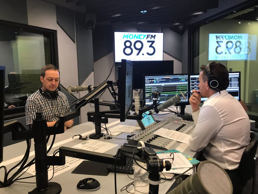 HBM's Mark Laudi and Jason Dasey of Money FM 89.3