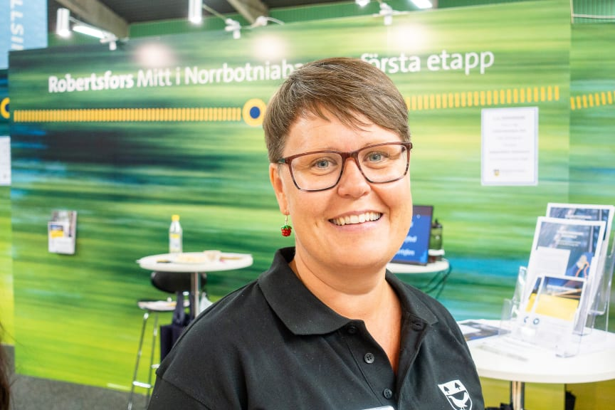 Karin Ahnqvist, kommunchef i Robertsfors kommun