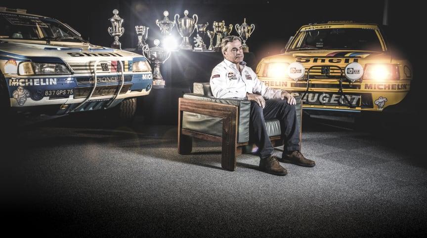 Peugeot återvänder till Dakarrallyt - Carlos Sainz