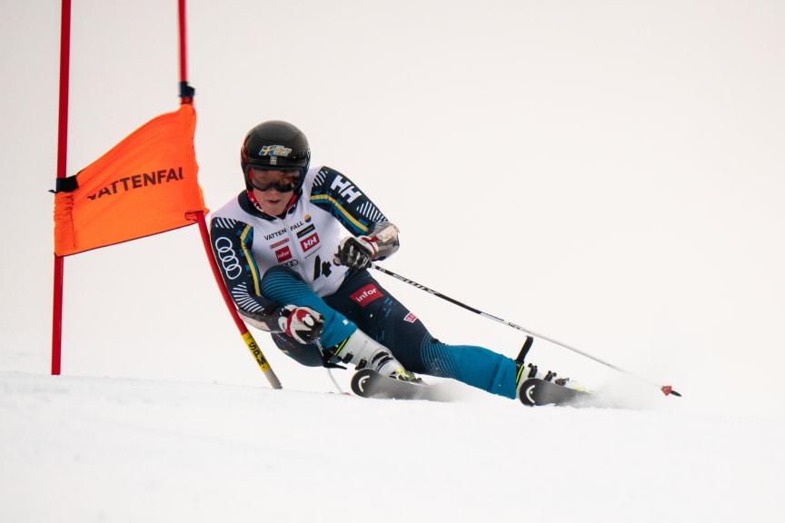 Alpinåkaren Adam Hofstedt, Karlstad SLK.