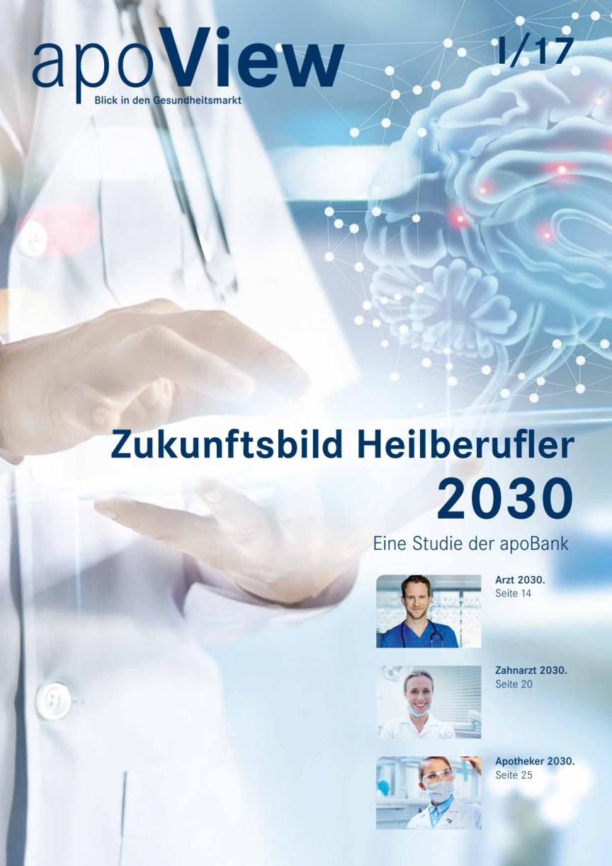 apoView I/2017: Zukunftsbild Heilberufler 2030