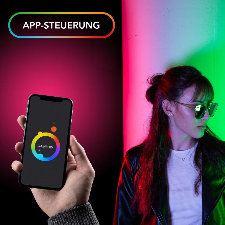 Walimex pro Rainbow Pocket RGBWW 23036 18 App