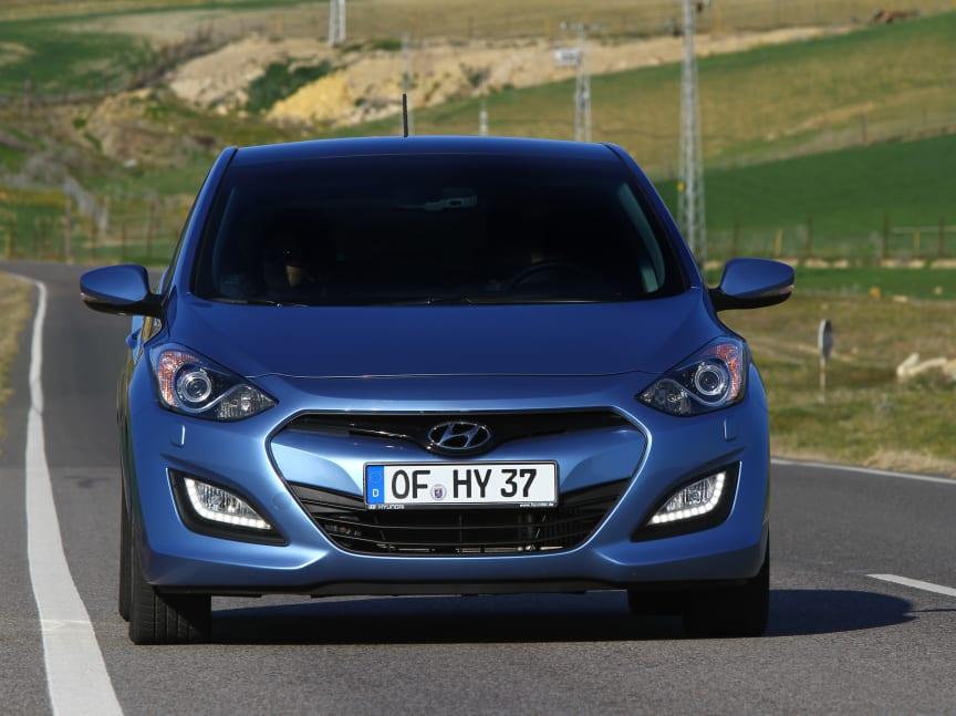 Hyundai i30 forfra