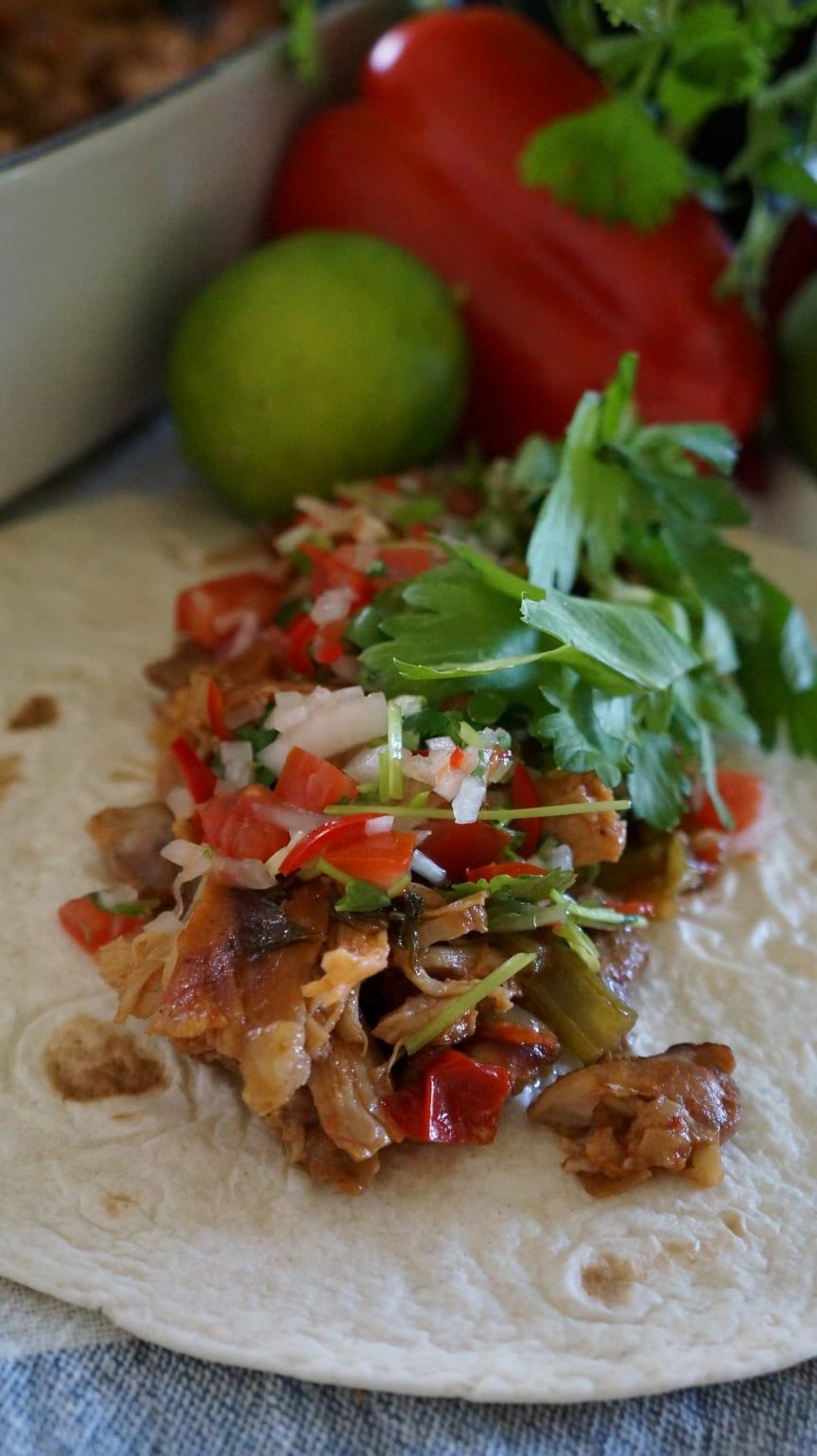 Amirs Pulled Chicken mexican style för ViktVäktarna