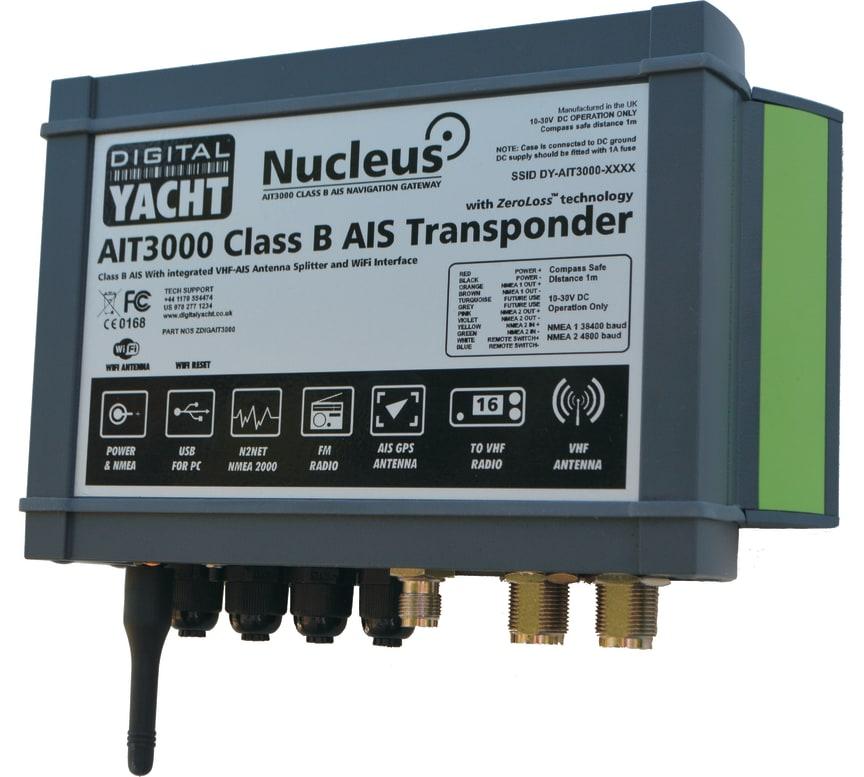 AIT3000 Class B transponder by Digital Yacht
