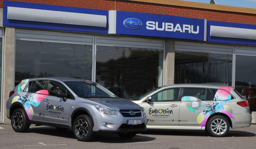 Subaru är officiell bil under Eurovision Song Contest 2013