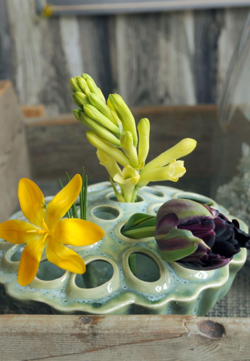 Trender 2017 - gröna labbet med tulpaner