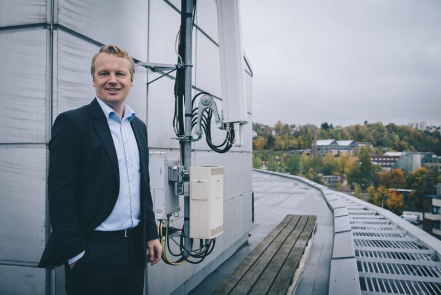 Jon Christian Hillestad, ny leder for Telia Bedrift
